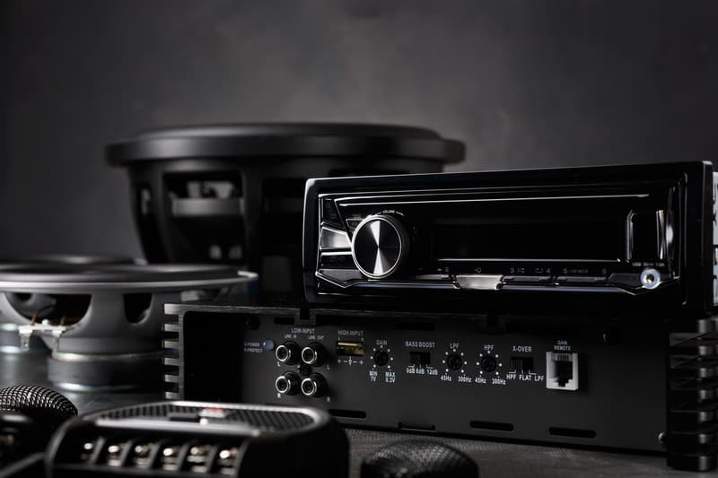 This is a picture of car audio gear