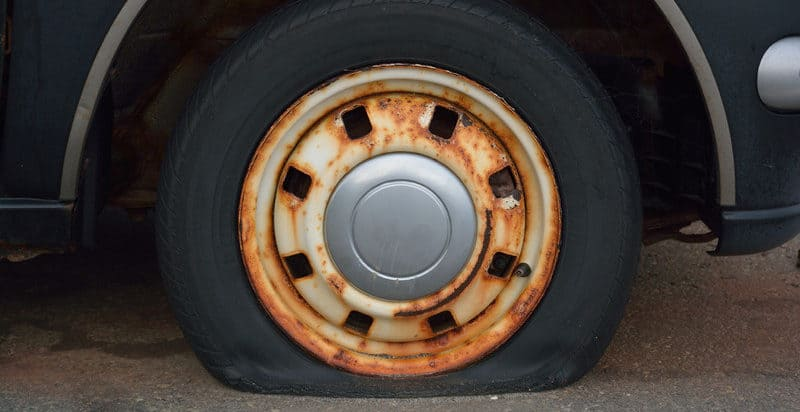 this is a picture of a tire illustrating the uniform warranty